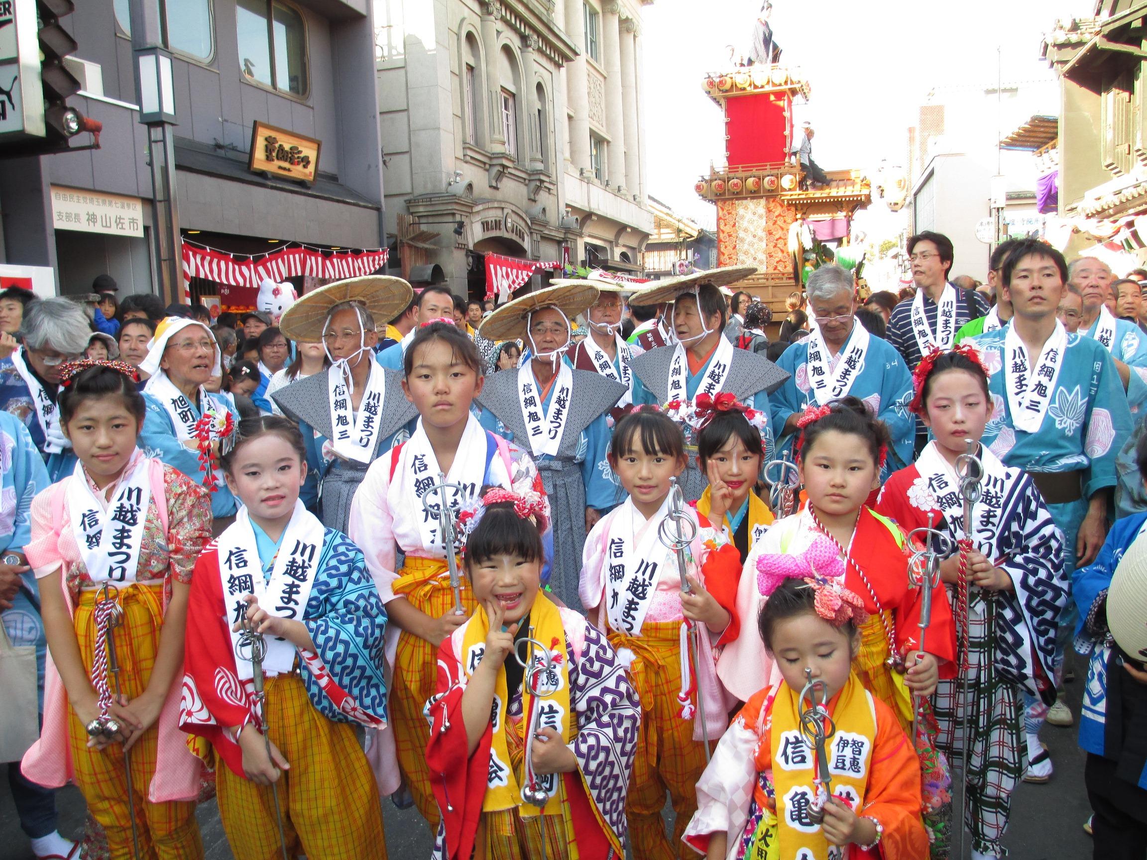 平成24年度川越祭り手古舞と
